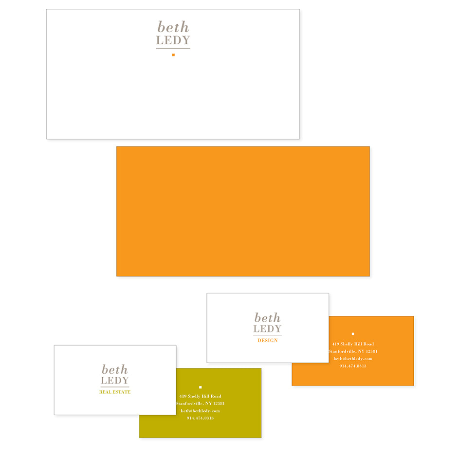 Beth Lady Design & Real Estate Stationary Design