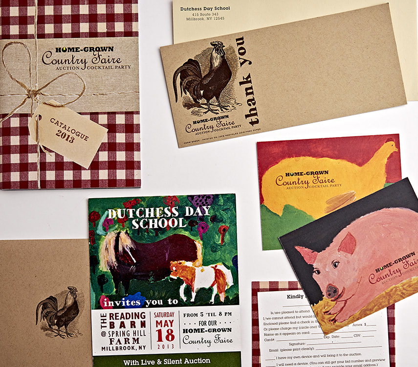 Dutchess Day School Country Faire Print Collateral