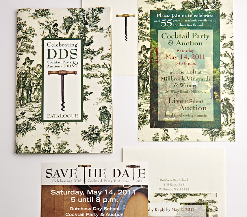 Dutchess Day School Wine Auction Print & Design