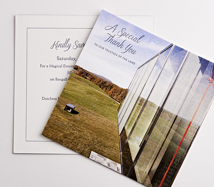 Dutchess Land Conservancy Trustee Invitation Design