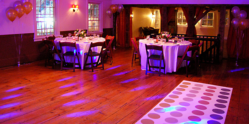 Teen Party Setting with lighting