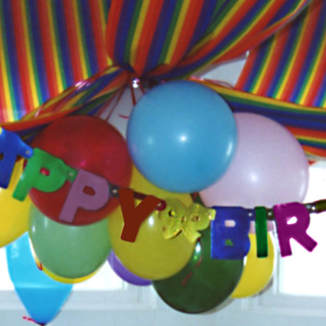 Children's Happy Birthday Party decorations
