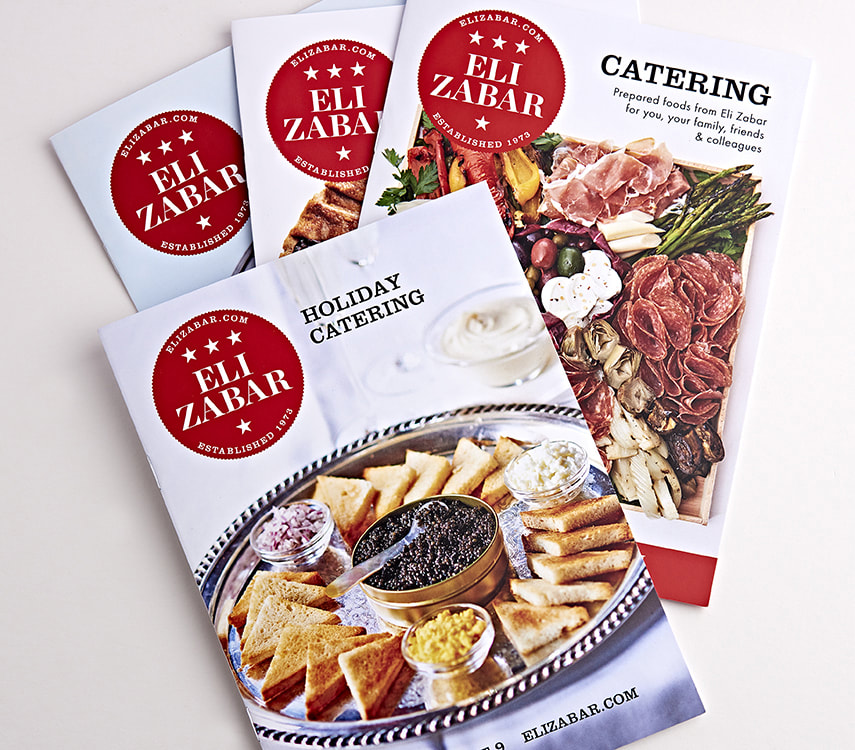 Eli Zabar Catering Catalog Design