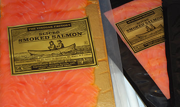Eli Zabar Smoked Salmon Label Design