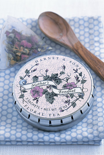 Harney & Sons Mother's Bouquet Label Design