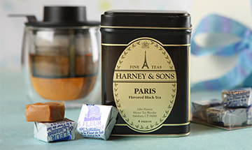 Harney & Sons Tin label design