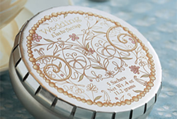 Harney & Sons Wedding tea package design