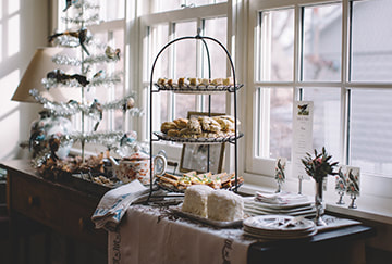 Holiday Tea Party Catering