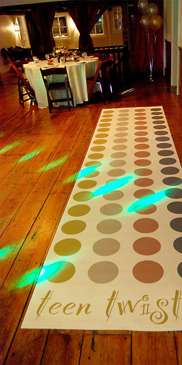 Teen Party Twister Game