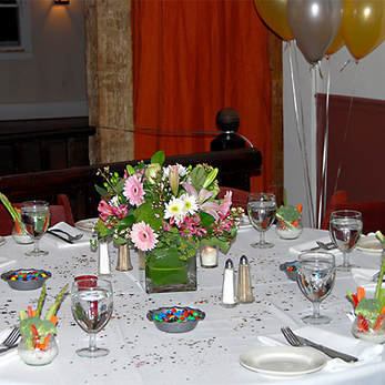Teen Party Table Setting