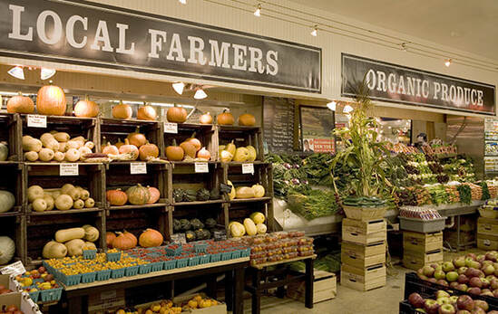 Eli Zabar's Produce Department Signage Design